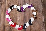 Baby Infant Toddler Girl Shoe Look Socks - Anti