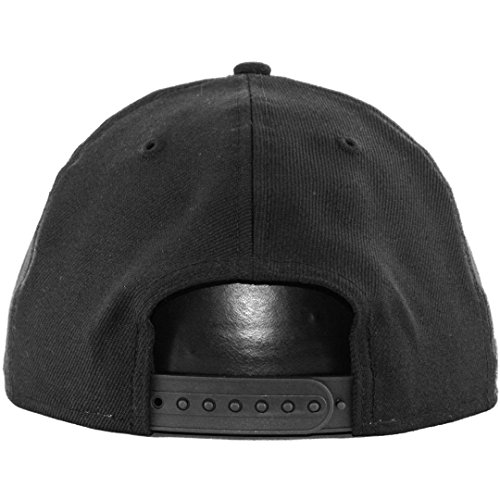 d19b40d3 New Era 9Fifty Plain Blank Snapback Hat Original Uniform Cap Black Navy Red