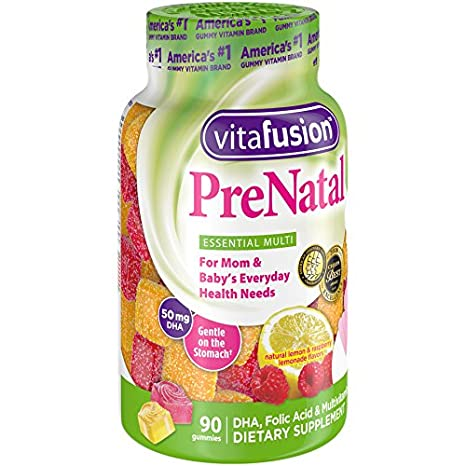 Amazon.com: Vitafusion Prenatal, Gummy Vitamins, 180 Count (Packaging May Vary): Health & Personal Care