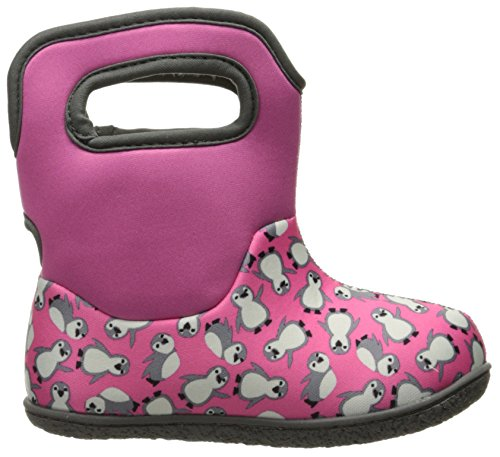 Classic Winter Bogs Pink Multi Snow Penguins Boot Baby 5qtrtvz
