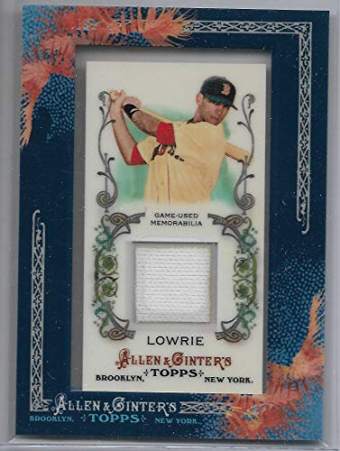 2011 Allen & Ginter's Baseball Jed Lowrie Framed Mini Jersey Card # AGR-JLO