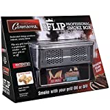 BBQ Smoker Box For Hot and Cold Smoke - Stainless Steel Barbecue Smoke Box Includes 2 Fire Starters To Easily Infuse Smoky Flavor with Your Grill On or Off