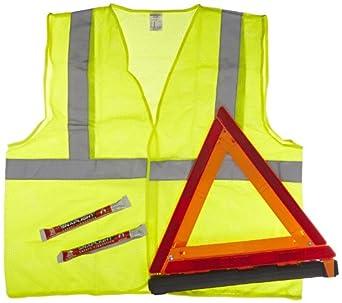 Jackson Safety 14667 Motorist Safety Kit, Red
