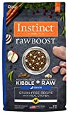 Instinct Raw Boost Senior Grain Free Recipe with Real Chicken Natural Dry Dog Food by Nature's Variety, 21 lb. Bag For Sale