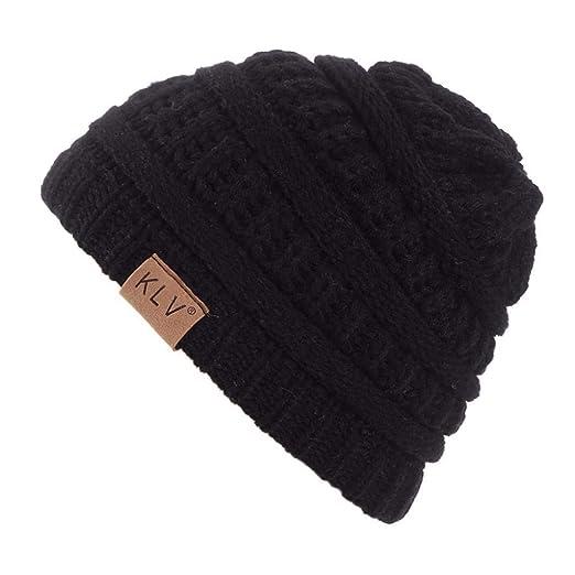 9a01ff1d Hunputa Baby Hat Winter, Baby Boy Winter Warm Hat, Infant Toddler Kids  Beanie Knit
