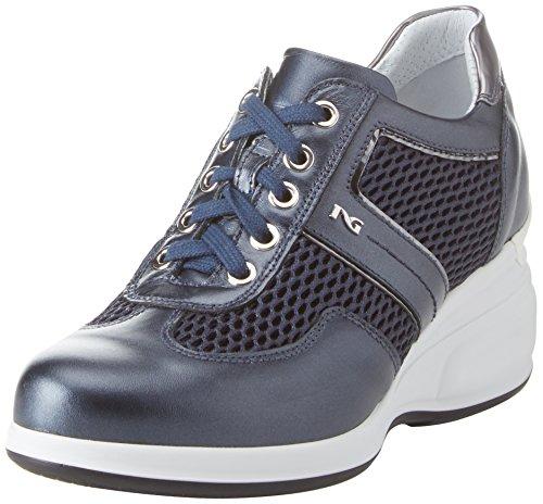 Sneaker Donna Nero Giardini Oxigen Blu xFCCPw