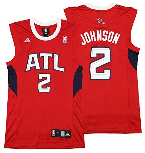 Atlanta Hawks Joe Johnson #2 NBA Mens Vintage Replica Jersey, Red – DiZiSports Store