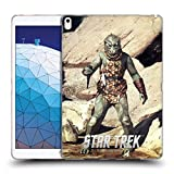 Official Star Trek Dagger Gorn Captain TOS Soft Gel Case Compatible for iPad Air (2019)