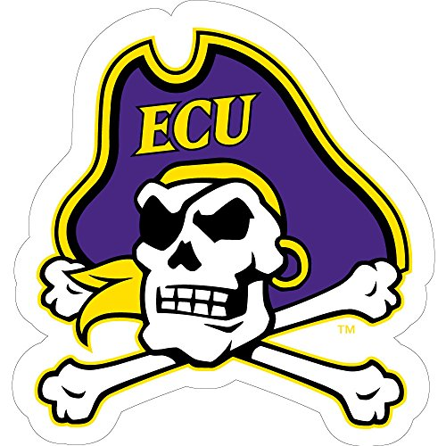East Carolina Pirates Cross Bones Logo Magnet (3