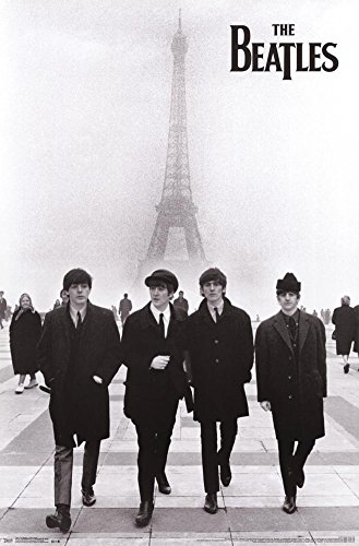 - Trends International The Beatles Eiffel Tower Poster 24