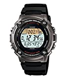 Casio Men's WS200H-1AV Black Resin Quartz Watch with Digital Dial