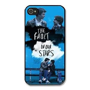 The Fault In Our Stars 2 H3C5PT5V Caso funda iPhone 4 4s Caso funda del teléfono celular Negro