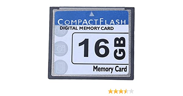 niceEshop(TM) Tarjeta Compact Flash Memory Profesional 16gb(blanco ...