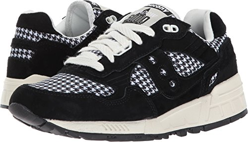 Saucony Originals Women's Shadow 5000 HT Houndstooth Black/White Sneaker (Type Saucony Womens)