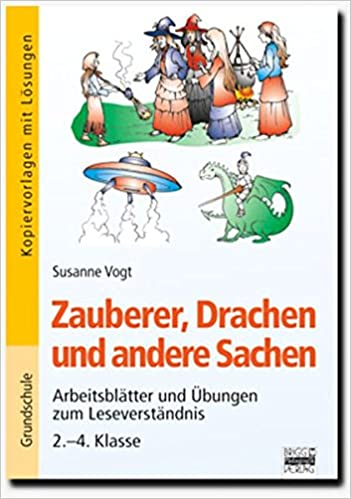 Brigg Deutsch Grundschule Lesen Zauberer Drachen Und