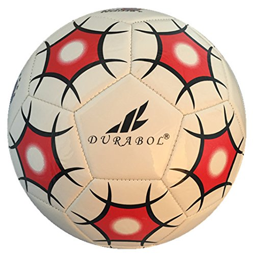Durabol Balón de fútbol football talla 5 Color Blanco DB-0042 ...