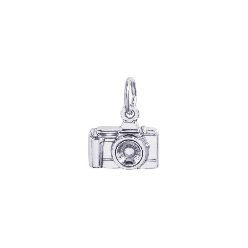 Rembrandt Sterling Silver Camera Charm - 3D