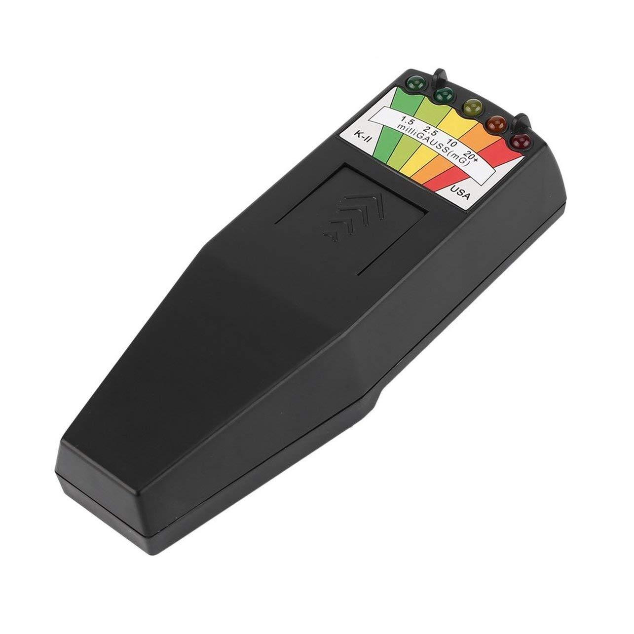 Hot Electromagnetic Radiation Detector LCD General EMF Meter Dosimeter Tester Color:Black