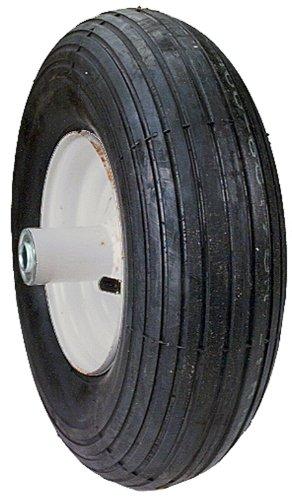 Maxpower 335255 6-Inch Wheelbarrow Wheel Assembly Rib ()