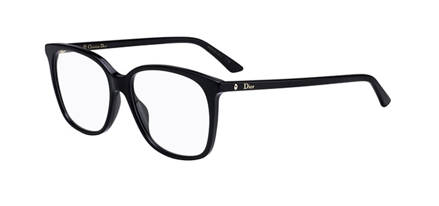 New Christian Dior Montaigne 55 0807 Black Eyeglasses