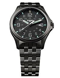 Traser P67 Officer Pro Gunmetal Black PVD Stainless Steel Men's Watch Swiss Made 107868