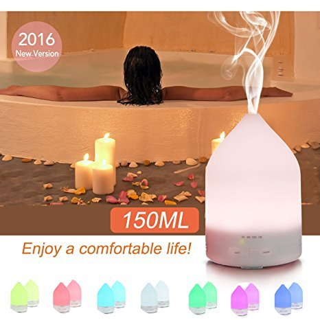Cheapest Prices! Aroma Diffuser, LAMAGIA 150ml Aromatherapy Essential Oil Diffuser Ultrasonic Cool M...
