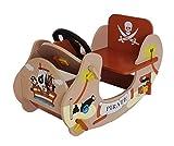 Kiddi Style Children's Pirate Wooden Rocker Ride On Boat