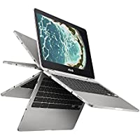 ASUS Chromebook Flip C302CA-DHM4 12.5-Inch Touchscreen Intel Core m3 with 64GB storage and 4GB RAM (Certified Refurbished)