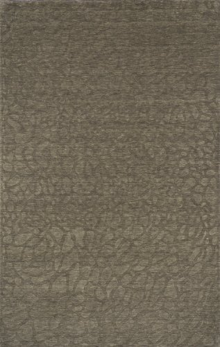 Momeni Rugs Gramercy Collection, 100 Wool Hand Loomed Contemporary Area Rug, 3 6 x 5 6 , Sage