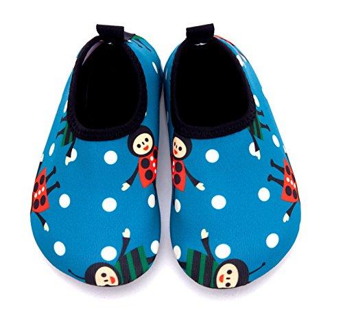 Giotto Kids Zwemwaterschoenen Sneldrogend Antislip Voor Jongens En Meisjes H-groen