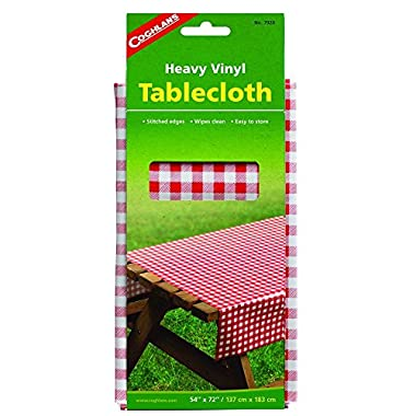 Coghlan's 54x72 Vinyl Tablecloth (Pack of 2)