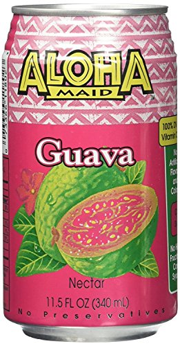 Aloha Maid Guava, 11.50 Ounce (Pack of 24) ()