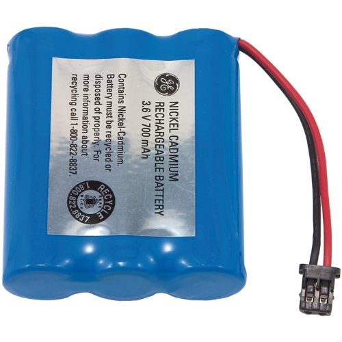 GE Cordless Phone Battery for Panasonic/Uniden Phones (TL26154)