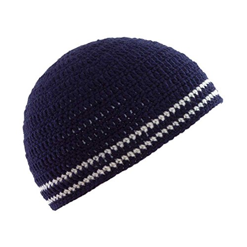 nbsp;Gorro rayas nbsp;– Gorro Crochet diseño Unisex de Crochet Marina de calavera beanie 2 FER5w