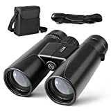 INTEY Folding Binoculars Image Stabilized High-Powered Adjusted with 12×42 High Definition for Hunting and Fishing For Sale