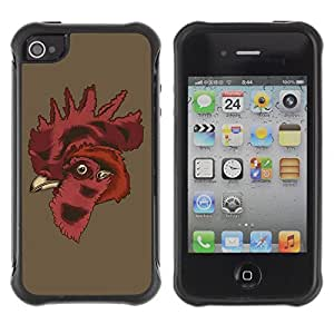 Hybrid Anti-Shock Defend Case for Apple iPhone 6 plus 5.5 Cool Rooster