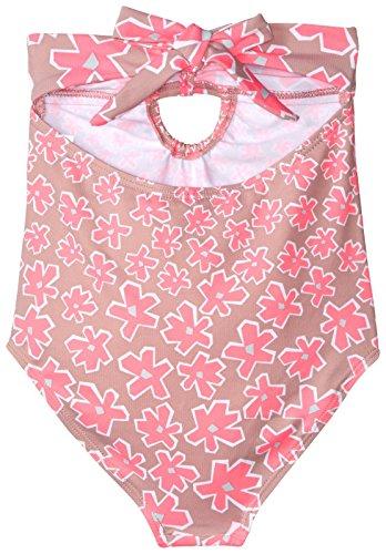 Stella McCartney Kids Girls' Anouk Daisy Print One Piece Swimsuit, Pink, 3 by Stella McCartney Kids (Image #2)