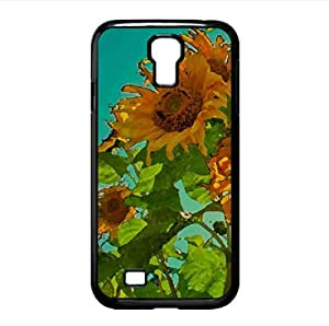 Sunflowers Watercolor style Cover Samsung Galaxy S4 I9500 Case (Flowers Watercolor style Cover Samsung Galaxy S4 I9500 Case)