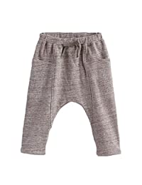 marc janie Baby Toddler Boys' Waistband Pattern Harem Long Pants