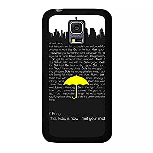 Personalized Custom How I Met Your Mother Phone Case Hardshell Carrying Cover for Samsung Galaxy S5 Mini Comedy HIMYM Cool Design