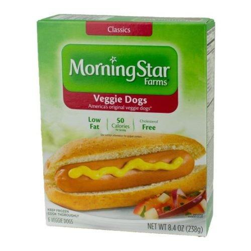 Hot Jerky Dog (MorningStar Farms Veggie Dogs, 8.4 Ounce - 8 per case.)