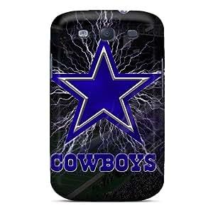 Hot PYImMoq-19023 Case Cover Protector For Galaxy S3- Dallas Cowboys