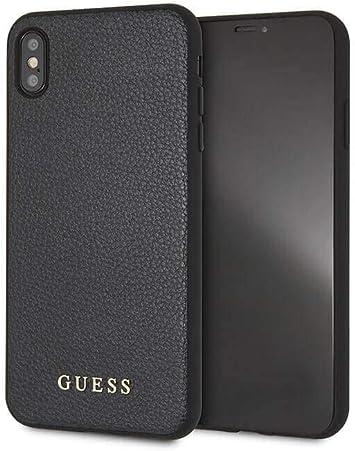 Guess - Funda Protectora Original Iridescent para iPhone XS MAX: Amazon.es: Electrónica
