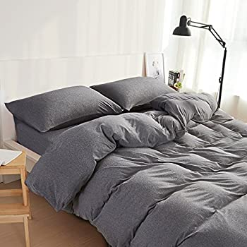 Awesome NTBAY 100% Organic Cotton Solid Color Duvet Cover With Hidden Zipper, King  Size,