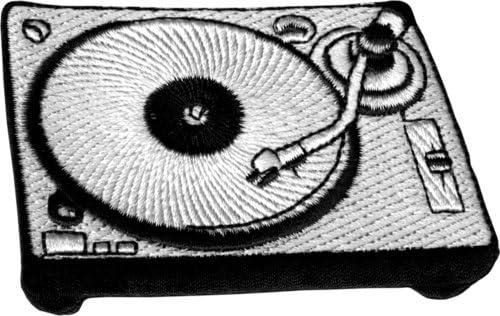 16176 negro blanco reproductor de discos de vinilo Tocadiscos ...