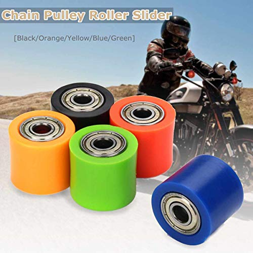 Star-Trade-Inc - 8mm Chain Roller Pulley Slider Tensioner Wheel Guide For Pit Dirt Mini Bike ATV