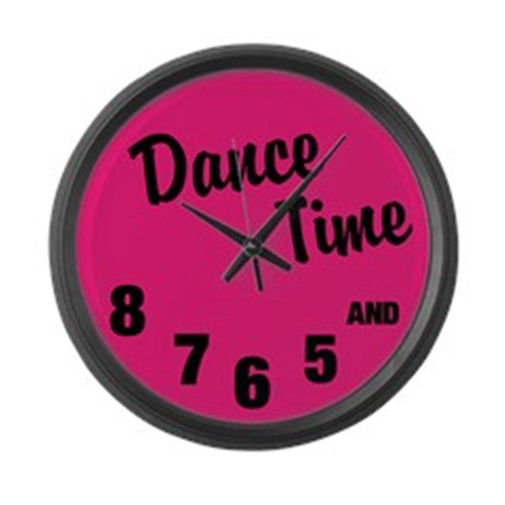 CafePress - Dance Time - Large 17'' Round Wall Clock, Unique Decorative Clock