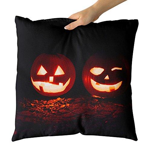 Westlake Art Decorative Throw Pillow - Pumpkin Halloween - Photography Home Decor Living Room - (New York's Village Halloween Parade)
