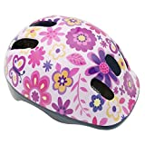 "Toys : BeBeFun Intant/Toddler/Youth Size CPSC Certificated Kids Adjustable Bike/Cycling Helmet for Boy and Girl Sports Safety Helmet (Flower, S(18.5""-20.5""))"