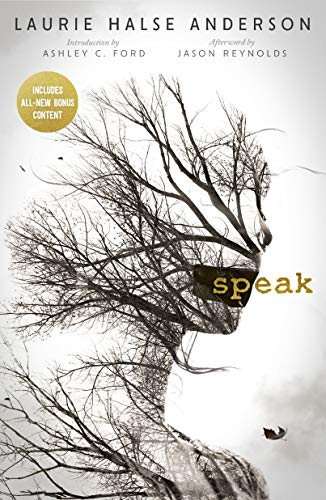 Book cover from Speak 20th Anniversary Edition by Laurie Halse Anderson